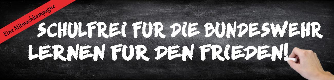 Schulfrei für die Bundeswehr